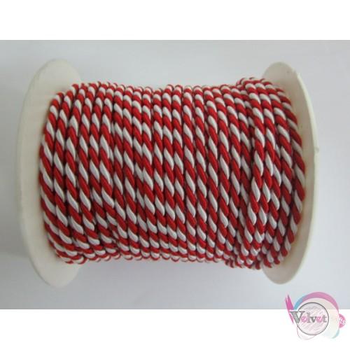 Στριφτό κορδόνι βισκόζη 3.2mm    10 μέτρα Στριφτά