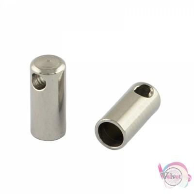 Ακροδέκτης ατσάλινος για κόλλημα  8.5x4mm         20τμχ. Εξαρτήματα