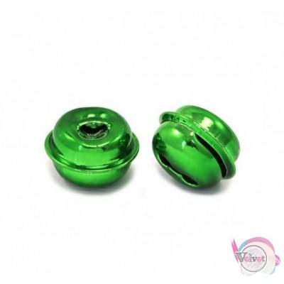 Κουδουνάκι, πράσινο, 15mm,   50τμχ Γούρια