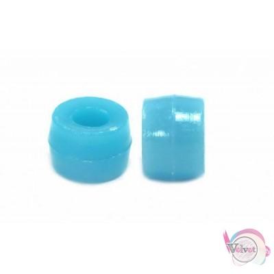 Ακρυλική χάντρα για κομποσκοίνι,  γαλάζιο, 6mm,   200τμχ. Χάντρες