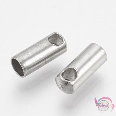 Ακροδέκτης ατσάλινος,  7x2.5mm,   20τμχ. Ακροδέκτες - Τελειώματα